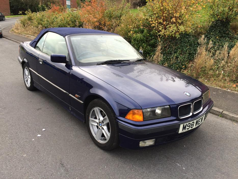 bmw 320i auto convertuble classic car and insurance mot 7. Black Bedroom Furniture Sets. Home Design Ideas