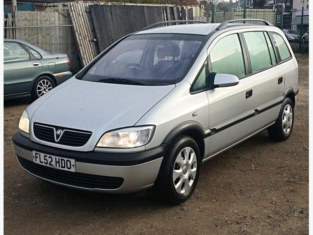 2003 52 vauxhall zafira 1 8 16v 7 seater sandwell walsall. Black Bedroom Furniture Sets. Home Design Ideas