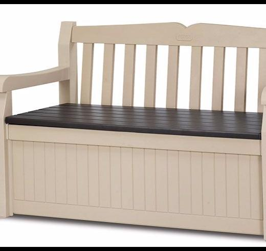 Keter Eden Garden Storage Bench Box Chest Shed Smethwick