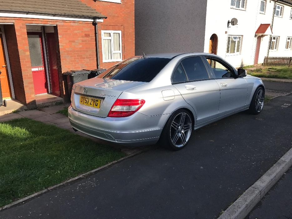 mercedes c180 kompressor 2007 w204 amg alloys read add dudley sandwell. Black Bedroom Furniture Sets. Home Design Ideas