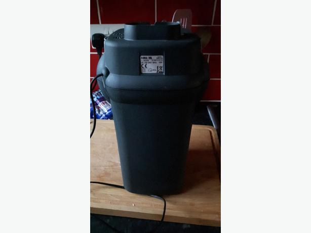 how to clean fluval 205 external filter
