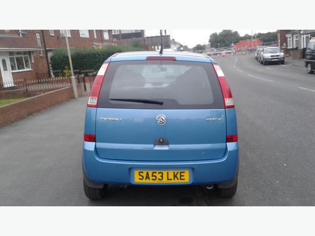 Vauxhall meriva life 1.6cc 8valve petrol 53plate