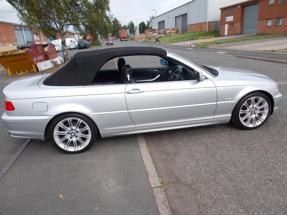 bmw 320 ci convertible e46 other black country location wolverhampton. Black Bedroom Furniture Sets. Home Design Ideas
