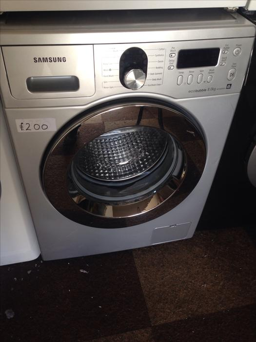 samsung eco bubble 8kg washing machine wolverhampton dudley. Black Bedroom Furniture Sets. Home Design Ideas