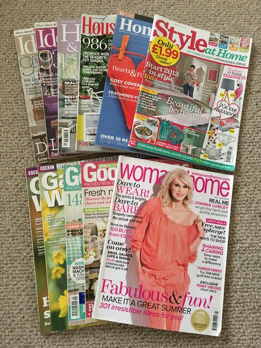 Free garden home magazines tipton wolverhampton mobile for Free home magazines