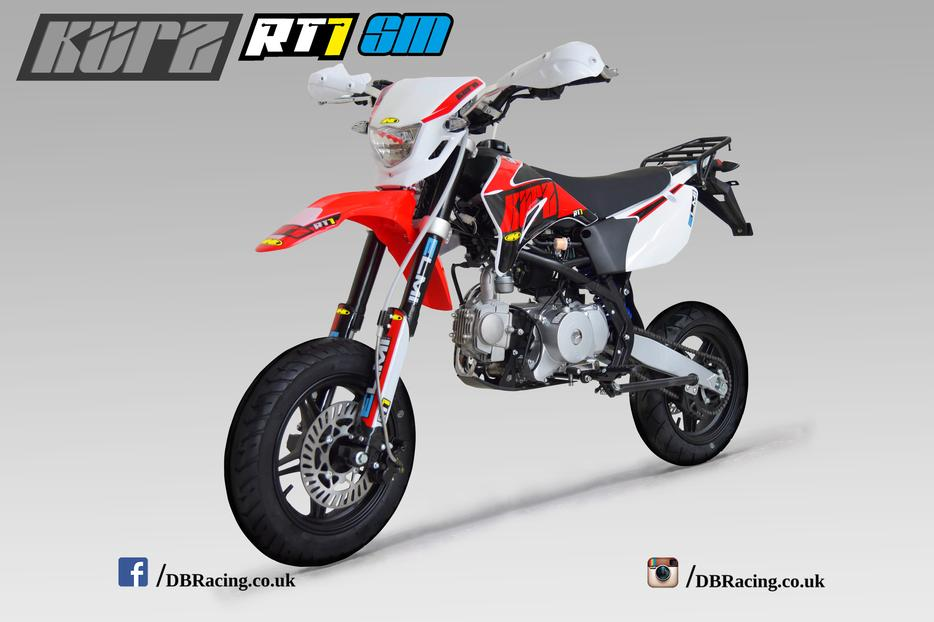 kurz rt1 125 supermoto pit bike learner suitable pitbike sedgley dudley. Black Bedroom Furniture Sets. Home Design Ideas
