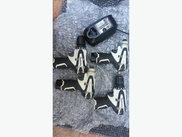 Makita 10.8v Cordless Driver Set
