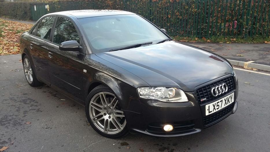 2007 audi a4 2 0 tdi s line special edition sat nav 200. Black Bedroom Furniture Sets. Home Design Ideas
