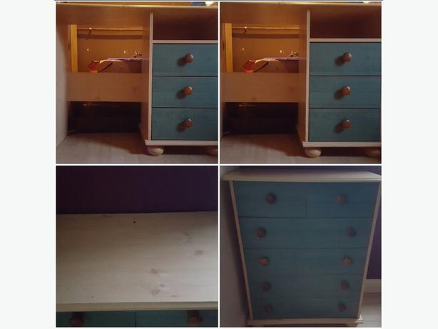 Chest Of Drawers And Matching Desk Dudley Wolverhampton