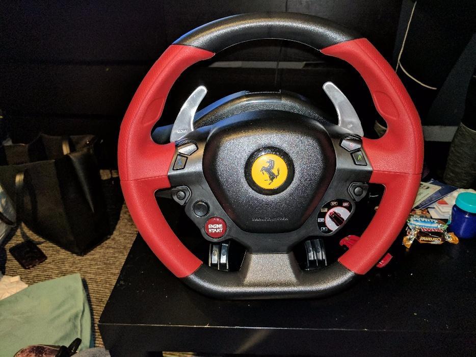 Ferrari 458 Steering Wheel Xbox