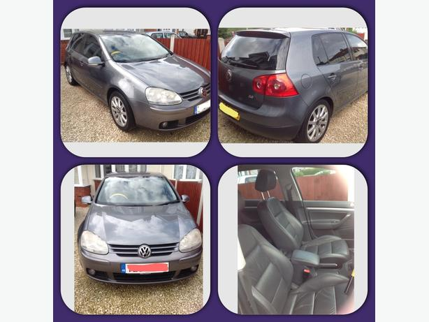 Volkswagen Golf 2.0 GT FSI, Full leather ✨ spare or repair
