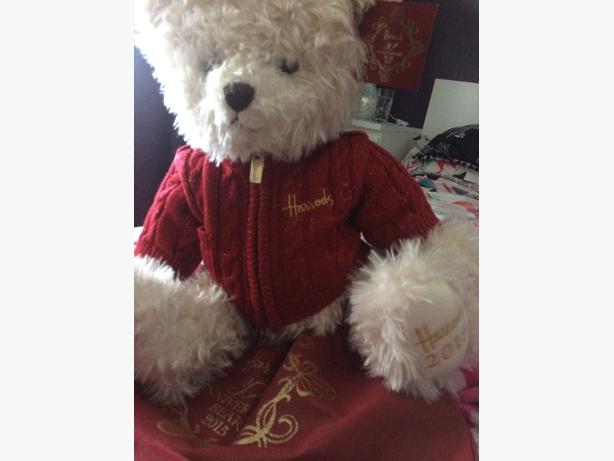 harrods 30th anniversary bear