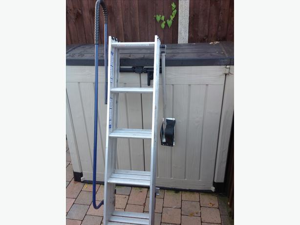 3 section loft ladder ladders bloxwich sandwell. Black Bedroom Furniture Sets. Home Design Ideas