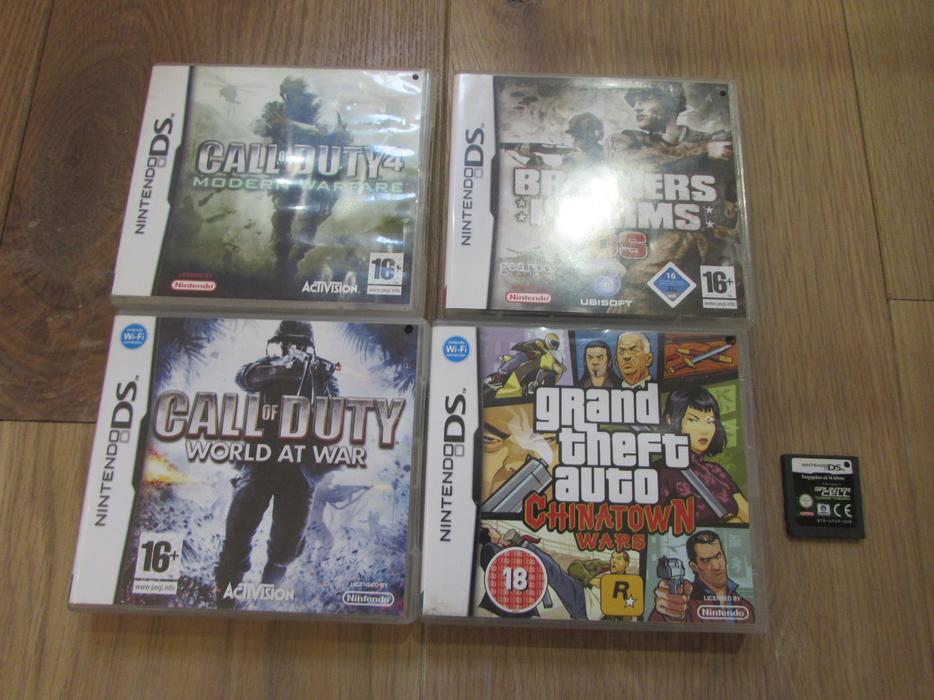 Nintendo Ds Games Call Of Duty Grand Theft Auto Brothers