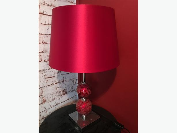 red crackle glass lamp brierley hill dudley On red crackle lamp