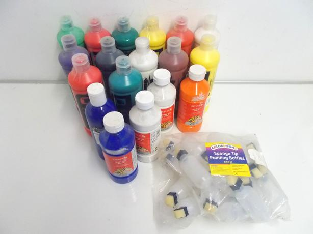 Joblot of Ready Mixed Paint Various Colours