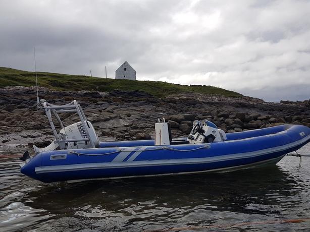 Avon adventure 620 rib boat good conditon