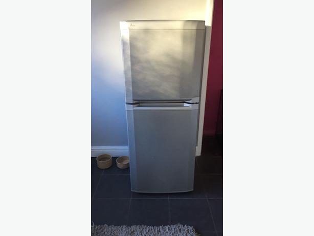 beko silver small fridge freezer dudley