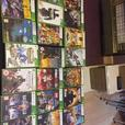 xbox 360,2 controllers,turtle beach,20 games. and kinect