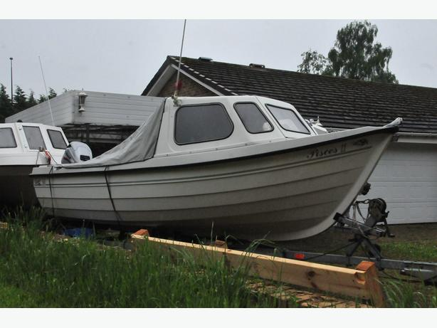 Orkney 520 Fast Fishing Boat good condition