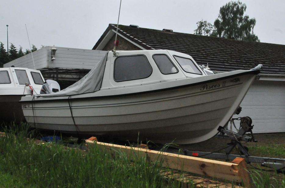 Orkney 520 fast fishing boat good condition armley leeds for Fast fishing boats