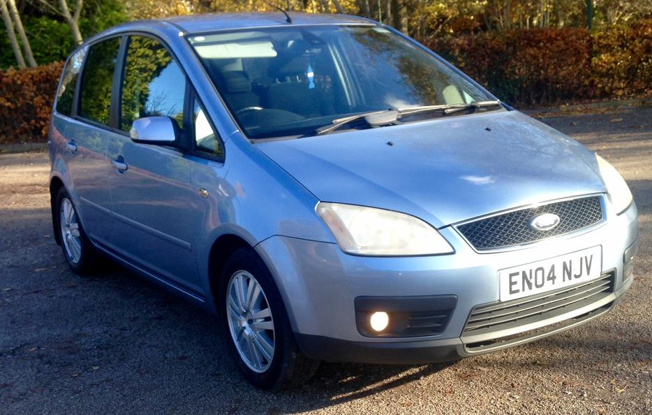 2004 ford focus c max 2 0 tdci ghia 6 speed sandwell sandwell. Black Bedroom Furniture Sets. Home Design Ideas