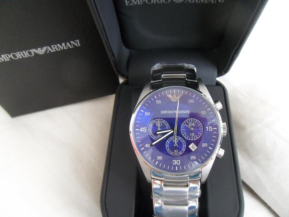 Brand New Armani Watch Ar5860 With Box Manual Book