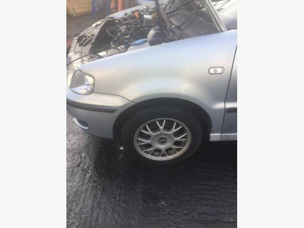 VW POLO 6N2 BODY PANELS WING DOOR BOOT BONNET QUARTER PANEL