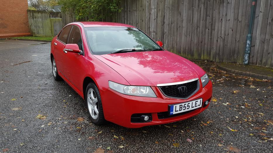 2005 honda accord 2 2 cdti sport red 128k mot july 2017 for Honda accord sport for sale near me