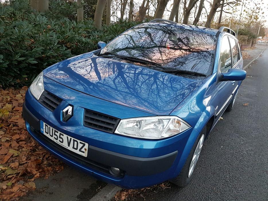 Renault Megane Estate Vgc 1 5 Dci Turbo Diesel 55 Plate