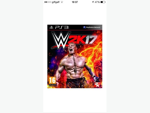 BRAND NEW SEALED WWE 2K17 PS3