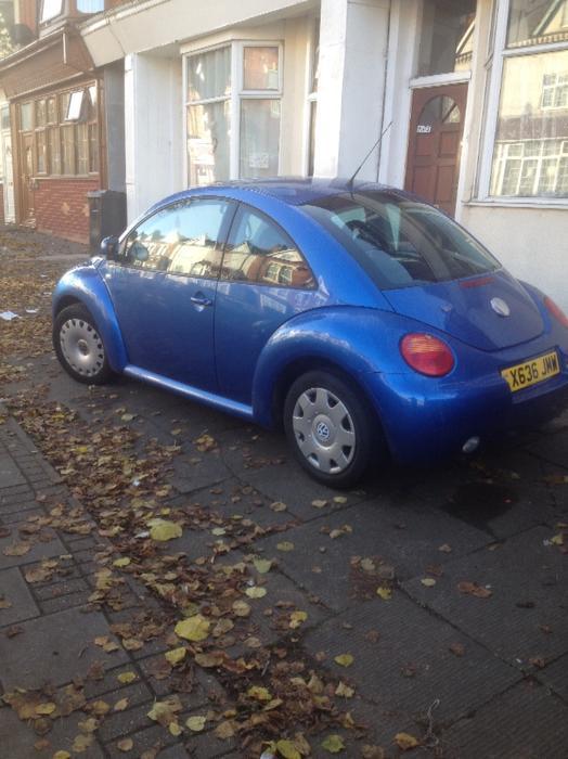cheap 1 2 cars for sale in birmingham vivastreet 2001 vw beetle 1 6 se drive away good runner. Black Bedroom Furniture Sets. Home Design Ideas