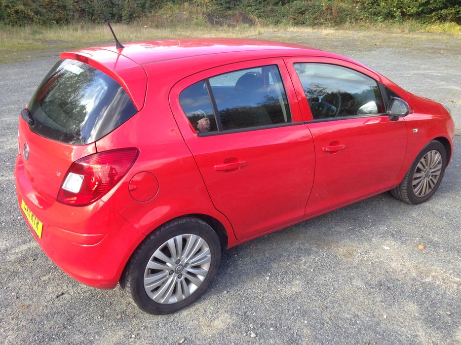 vauxhall corsa 1 2 i 16v excite 5dr stourbridge dudley mobile. Black Bedroom Furniture Sets. Home Design Ideas