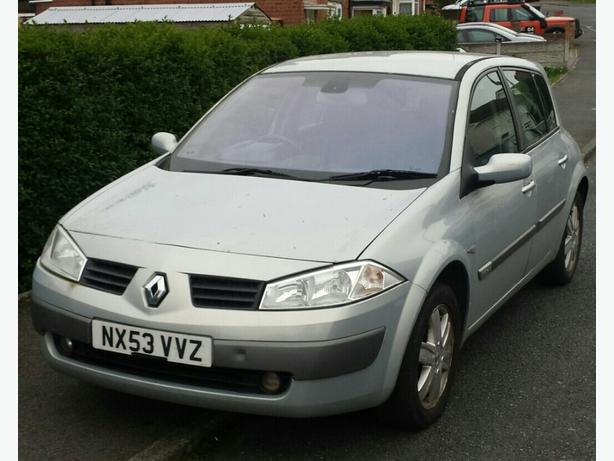 2003 renault megane 1 6 16v wednesbury dudley. Black Bedroom Furniture Sets. Home Design Ideas