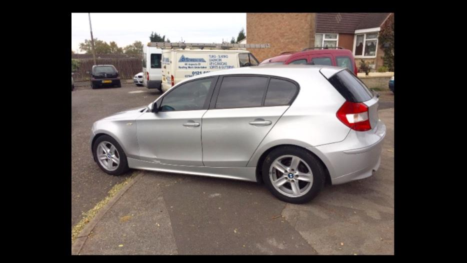 2007 bmw 118d sport diesel dudley wolverhampton. Black Bedroom Furniture Sets. Home Design Ideas