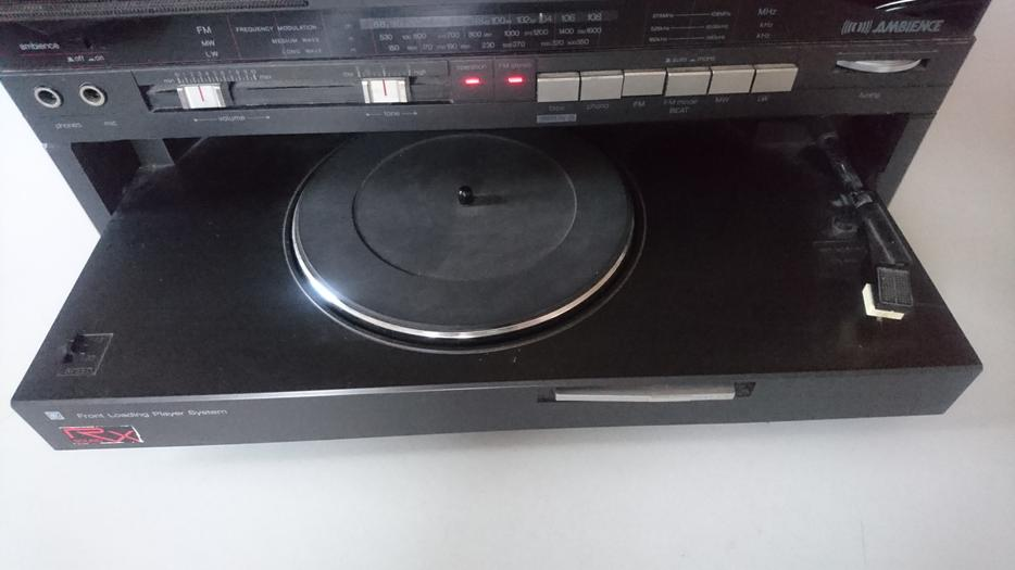 Vintage Panasonic Compact Hi Fi System Record Player