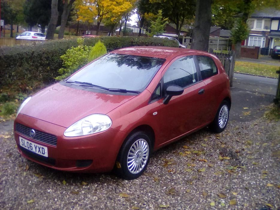 2006 fiat grande punto active 65 red 3 door hatchback great barr dudley. Black Bedroom Furniture Sets. Home Design Ideas