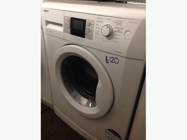 beko lcd display 7kg white washing machine wolverhampton. Black Bedroom Furniture Sets. Home Design Ideas
