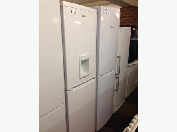 Beko White Frost Free Fridge Freezer With Water Dispenser