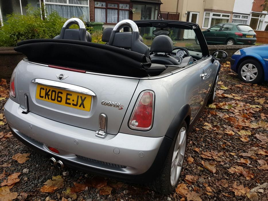 mini cooper s cabriolet superb condition drives as new supercharged wolverhampton  wolverhampton 2011 Mini Cabrio Mini Cooper Cabrio