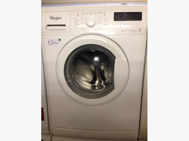whirlpool white 9kg washing machine wolverhampton sandwell mobile. Black Bedroom Furniture Sets. Home Design Ideas