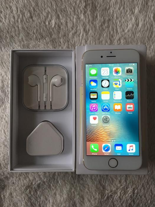 sell your iphone iphone 6 64gb ee gold excellent condition 1807