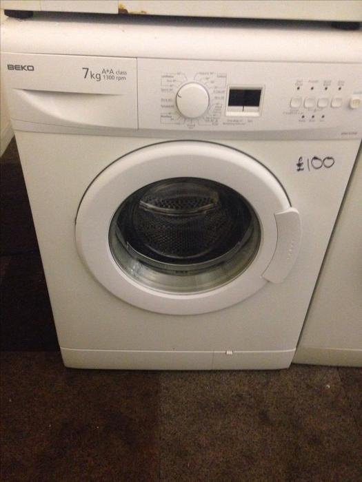 beko 7kg washing machine white3 wolverhampton dudley. Black Bedroom Furniture Sets. Home Design Ideas