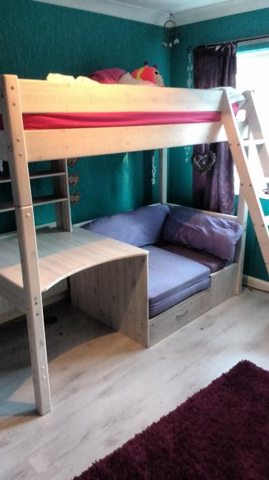 high sleeper bed thuka bilston sandwell. Black Bedroom Furniture Sets. Home Design Ideas