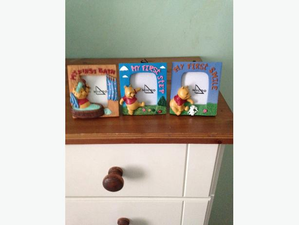 winnie the pooh baby photo frames