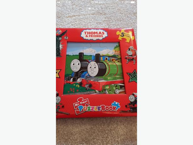 Thomas the tank engine puzzle book