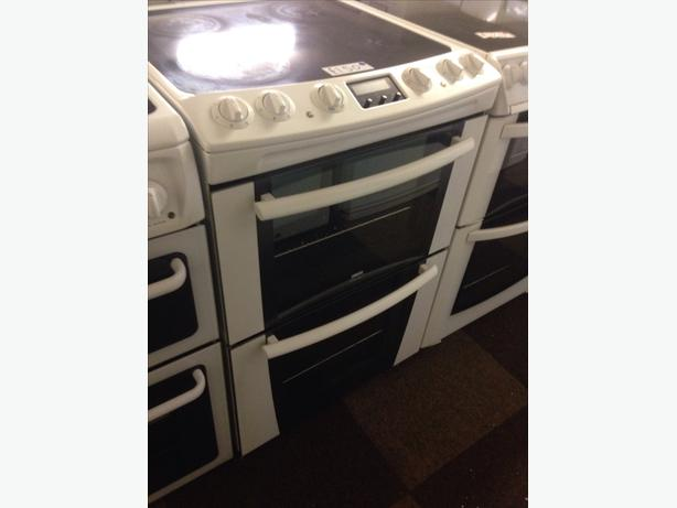 ZANUSSI ELECTRIC COOKER FAN ASSISTED DOUBLE OVEN