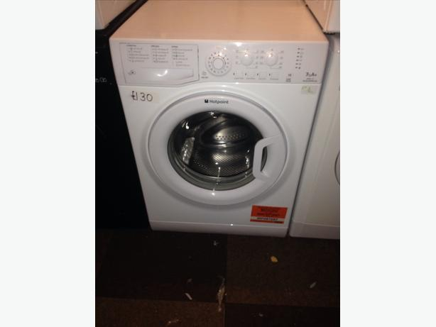 HOTPOINT 7KG WHITE WASHING MACHINE00