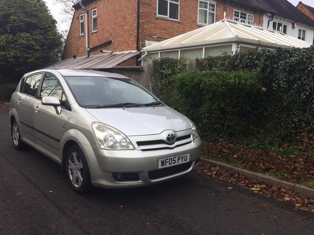 Toyota corolla verso D4D T3 Turbo Diesel 7 seater 2005