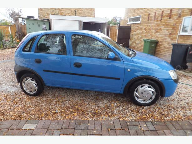 corsa 1.2 -2002-nice car-slight missfire-no offers